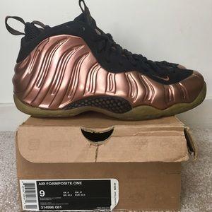 Nike Foamposite Pro Dirty Copper Men's Size 9 OG
